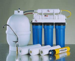 Установка фильтров для очистки воды